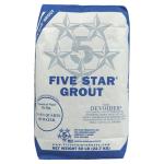 Five Star Grout Photo 50-lb-bag